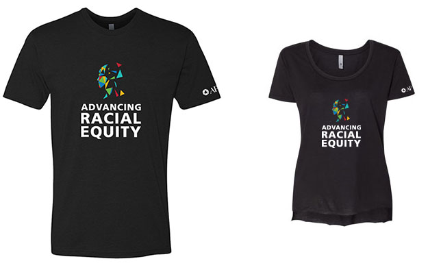 Advancing Racial Equity T-shirts