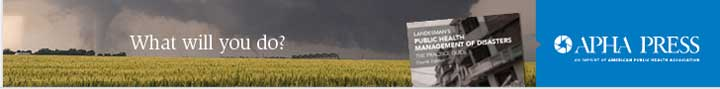 tornado in distance What will you do? Public Health Management of Disasters APHA Press