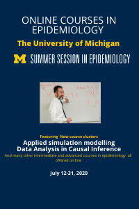 Online Courses in Epidemiology University of Michigan Summer Session in Epidemiology