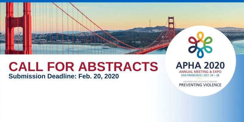 CALL FOR ABSTRACTS Submission Deadline Feb. 20, 2020, Golden Gate Bridge
