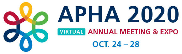 APHA 2020 Virtual Annual Meeting & Expo OCt. 24-28
