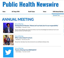 Public Health Newswire Annual Meeting