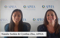 Cynthia Zhu and Natalie Sorkin
