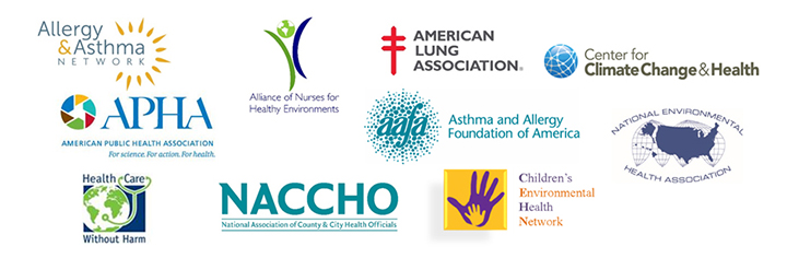 logos of 10 health and medical organizations