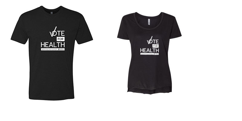 Vote for Health T-shirts