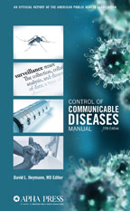 Control of Communicable Diseases Manual cover image