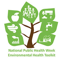 tree with caption Environmental Health Toolkit